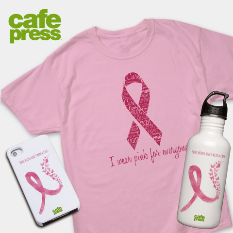 The Breast Cancer Research Foundation(R) Continues Partnership with CafePress to Support Breast Cancer