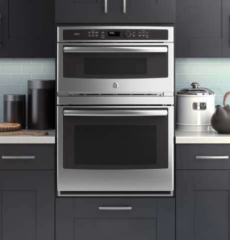 The latest microwave/wall oven combo is now available with GE's most advanced cooking technology-the