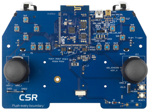 CSR Dual Mode Bluetooth(R) Platforms Enable Faster Development of Low-Power, Next-Gen Wireless Gaming