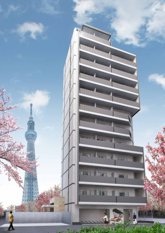Sumida Park Residence Outlook (Graphic: Business Wire)