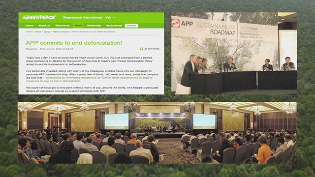 Asia Pulp and Paper signs New York Declaration on Forests at UN