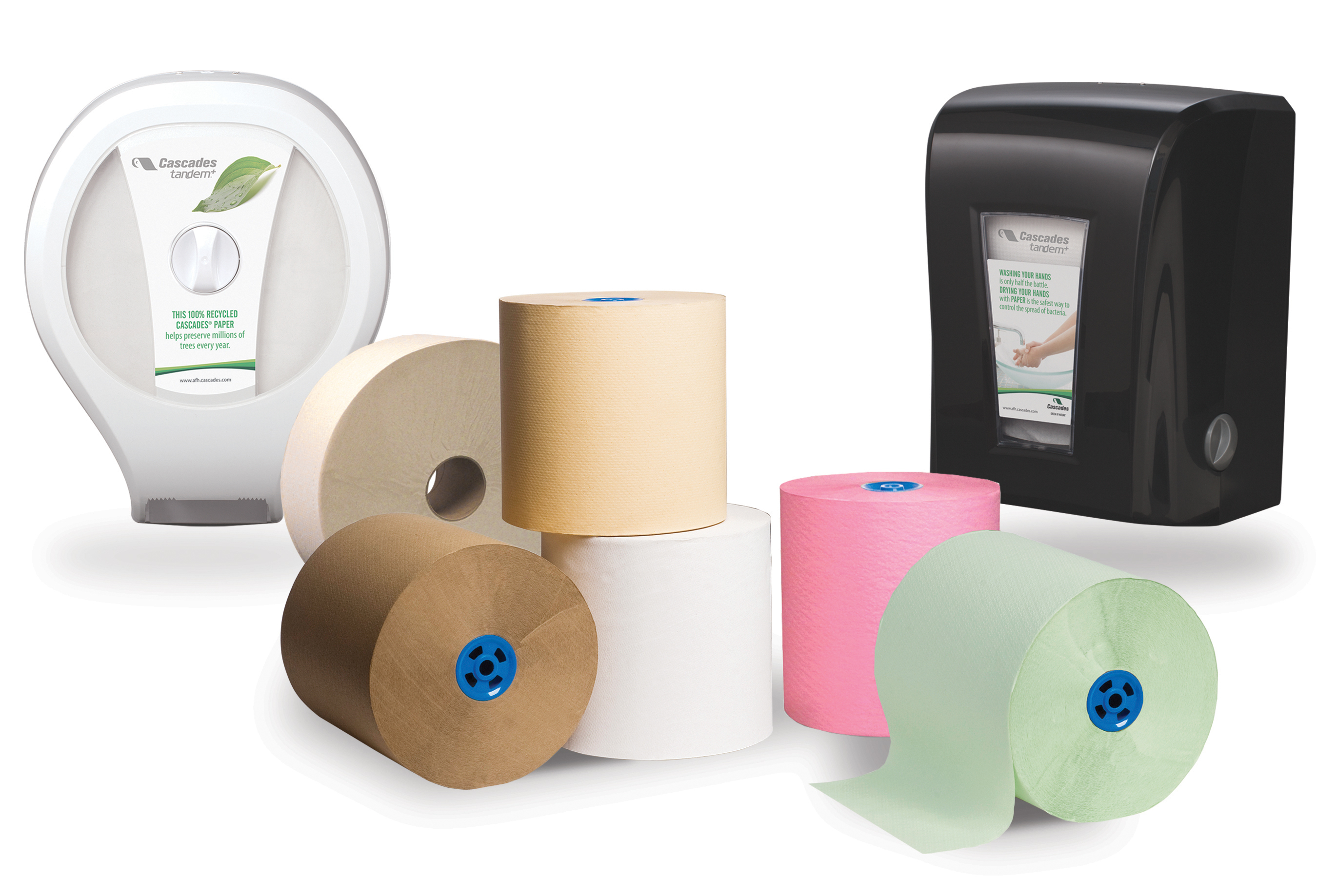 Cascades Tissue Group Launches New Tandem Towel and Tissue