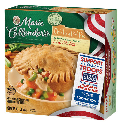 Look for one of the more than 51 million specially-marked Marie Callender's meals or desserts in your grocer's freezer case. (Photo: ConAgra)