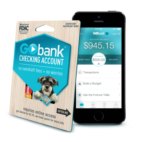 GoBank is a full-featured checking account available exclusively at Walmart (Photo: Business Wire)
