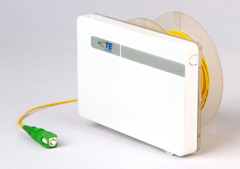 TE's Rapid Fiber Faceplate (Photo: TE Connectivity)