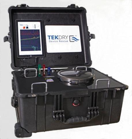 TekDry wet mobile device restoration machine (Photo: Business Wire)