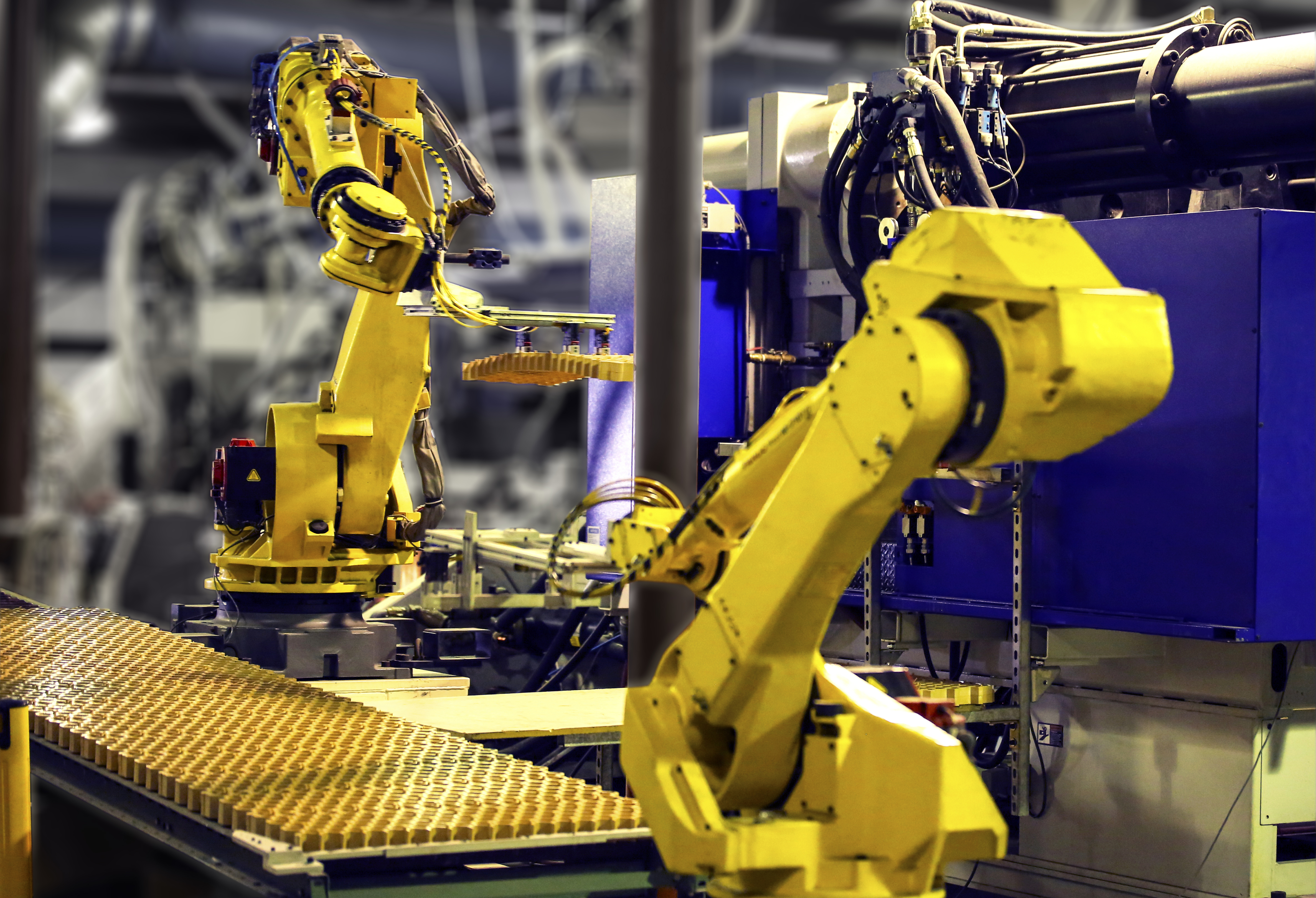 Manufacturing With Robots And Automation Drives Growth For