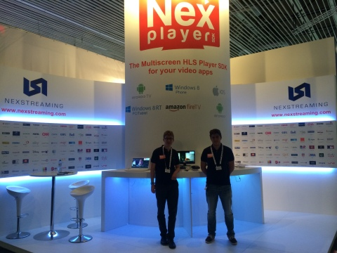 NexStreaming booth at IBC 2014 (Photo: Business Wire)