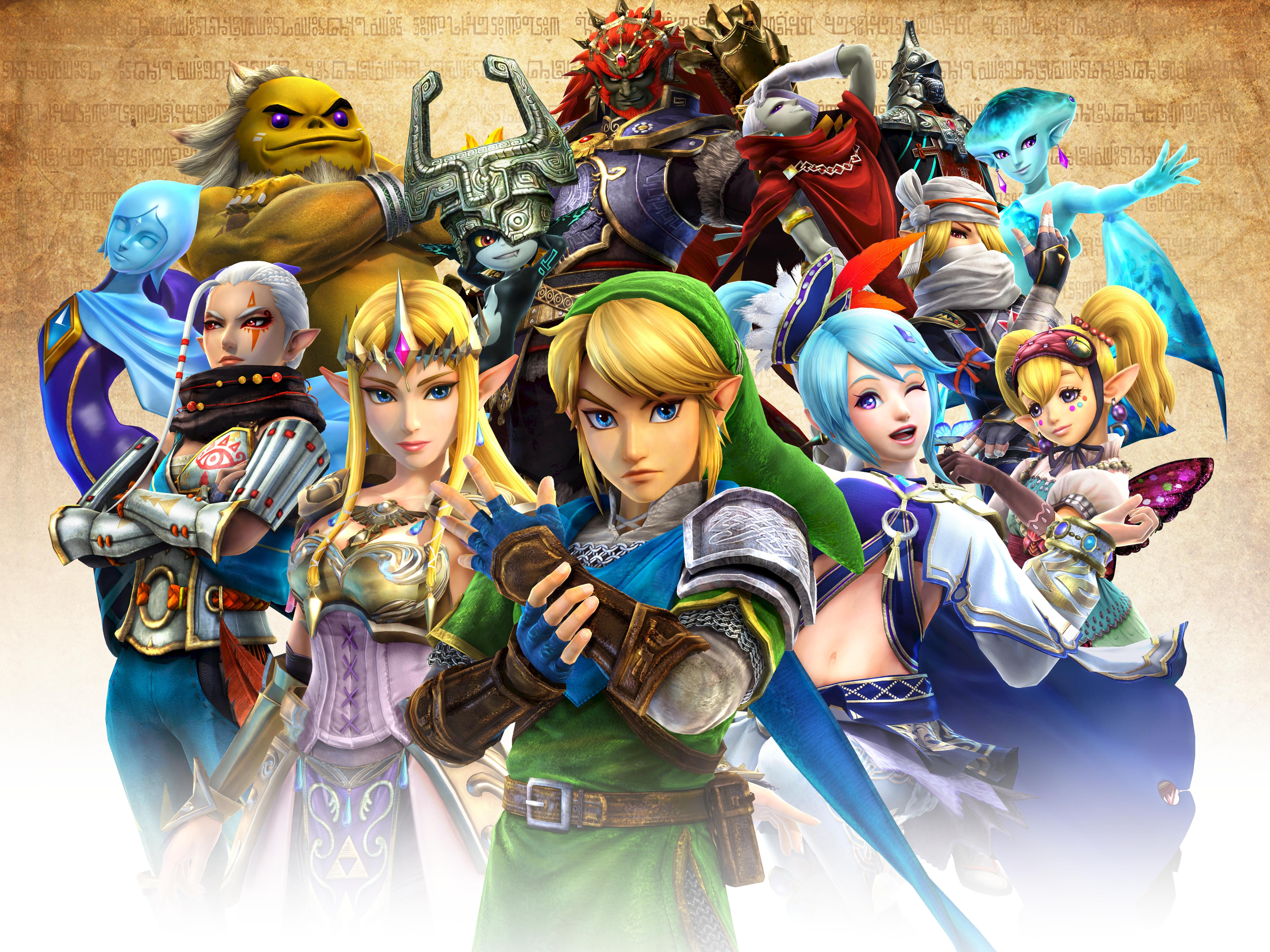 Battle Massive Armies With Legendary Characters In Hyrule Warriors For Wii U Business Wire