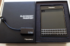 The Blackberry Passport with SlimPort is the Prosumers Ticket to Mobile Productivity (Photo: Business Wire)
