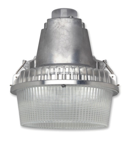 GE's EvolveTM LED Security Light is designed for such applications as outdoor work yards, commercial