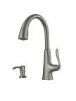 Pfister's Pasadena Slate finish faucet, model F-529-PDSL, is available exclusively at Home Depot stores and HomeDepot.com. (Photo: Business Wire)