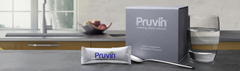 Pruvin Dietary Supplement--With Pruvin, your metabolism will run more like it did when you were younger, producing more energy, burning more fat, and generating fewer toxins. (Photo: Business Wire)