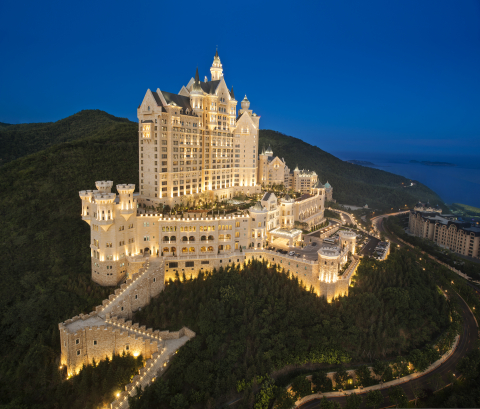 The exterior of The Castle Hotel, a Luxury Collection Hotel, Dalian