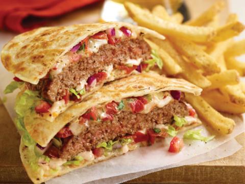 Applebee's Quesadilla Burger (Photo: Business Wire)
