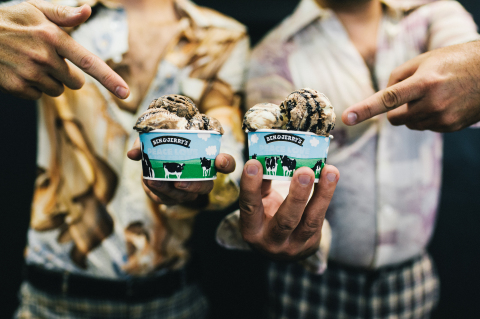Ben & Jerry's third SNL-inspired flavor, Two Wild and Crazy Pie's hits Scoop Shops. (Photo: Business Wire)