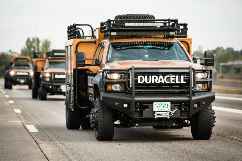 Duracell announced the expansion of its Duracell Power Forward fleet, Tuesday, Sept. 30, 2014, in Battery Park City in New York.  This disaster relief program provides free Duracell batteries, WiFi and mobile charging within 24 hours after a natural disaster. For additional photos, please visit https://invision.dfstudio.com/pub/messenger/home.df?key=3edd61c0-48d4-11e4-8423-22000b0e89de (Photo by Diane Bondareff/Invision for Duracell)