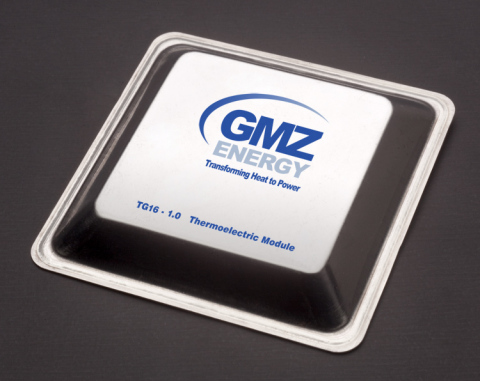 GMZ's highly efficient TG16-1.0 directly converts waste heat into usable electricity.(Photo: Business Wire)