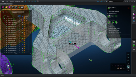 MSC Apex regenerates meshes automatically with direct modeling updates to geometry (Photo: Business Wire)