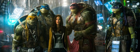 The Wildly Popular Super Heroes Are Back in the Fun-Filled, Action-Packed Blockbuster Teenage Mutant Ninja Turtles, Arriving on Blu-ray™ Combo Pack December 16, 2014 with Ninja Turtle Masks (Photo: Business Wire)