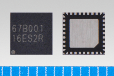 """Toshiba launches sensorless three-phase brushless motor driver """"TB67B001FTG"""" (VQFN36)(Photo: Business Wire)"""