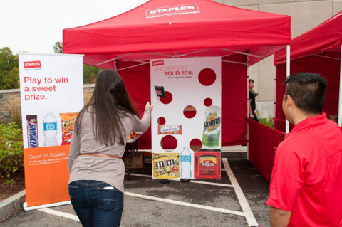 Play games to receive prizes including refreshing, premium snacks and other breakroom items. (Photo: Business Wire)