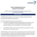 ZYTIGA® (ABIRATERONE ACETATE) CLINICAL DATA FACT SHEET