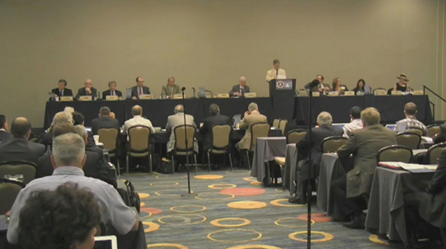 B-roll footage of the Consensus Conference on Glucose Monitoring in Washington D.C. on September 29-30, 2014.