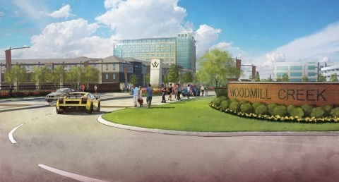 Rendering of the Woodmill Creek development (Photo: Business Wire)