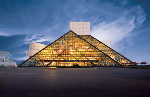 Rock and Roll Hall of Fame and Museum with 3M(TM) Sun Control Window Film Prestige Exterior 40 (Phot