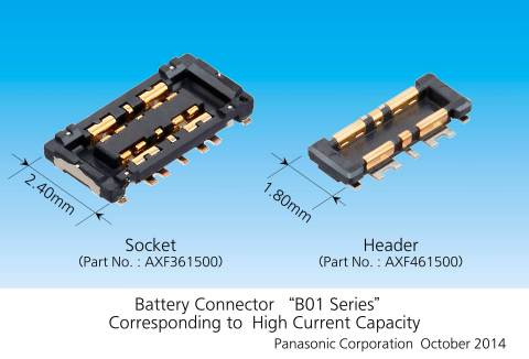 Battery Connector B01 Series Corresponding to High Current Capacity. (Photo: Business Wire)