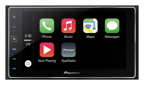 Pioneer AppRadio 4 (SPH-DA120) with Apple CarPlay (Photo: Business Wire)