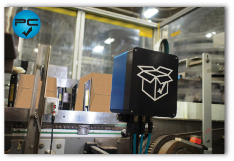 Utilizing thermal imaging to ensure proper hot-melt application in real time, PackChek™ is the latest development in quality assurance systems for end-of-line packaging. (Photo: Business Wire)