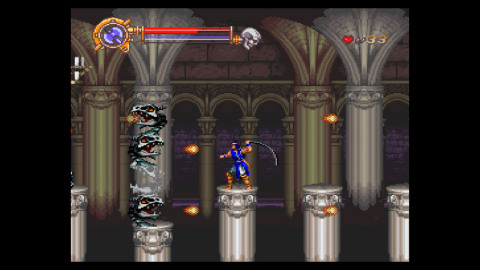 In Castlevania Dracula X, defeat legions of monsters in this multi-ending, multi-story entry in the classic Castlevania series. (Photo: Business Wire)