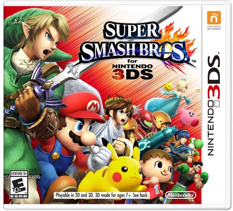 With Super Smash Bros. for Nintendo 3DS, players will get to experience the epic battles, glorious m ...