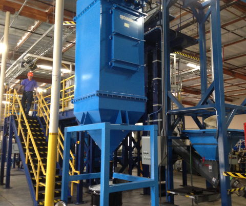 Cool Planet Energy Systems, a technology company that develops sustainable solutions for energy, food and water, has unveiled its first commercial-scale production facility for its CoolTerra(TM) soil amendment. The new manufacturing facility is located in Camarillo, California. (Photo: Business Wire)