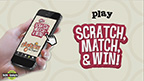 Scratch, Match & Win Game