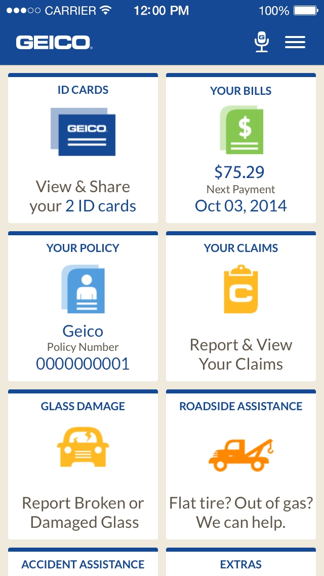 GEICO leads a strong field of mobile insurers: earns highest score ...