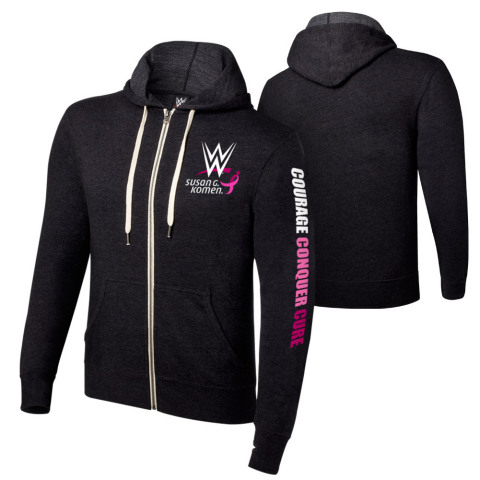 WWE will donate to Komen 20 percent of the retail sales price of all co-branded merchandise sold on WWEShop.com and at WWE live events, as well as 5 percent of all other WWE merchandise sold on WWEShop.com. (Photo: Business Wire)