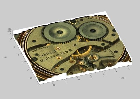 """Image captured by CyberOptics Advanced 3D Sensor Technology"""