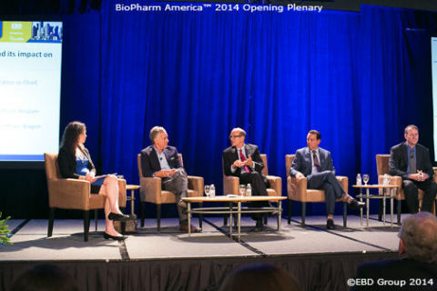 BioPharm America™ 2014 Opening Plenary (Photo: Business Wire)