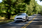The Infiniti Q70 has been named a Top Safety Pick+ by the IIHS. For 2015, the Q70 is available with new technologies such as Predictive Forward Collision Warning and Back-up Collision Intervention. (Photo: Business Wire)