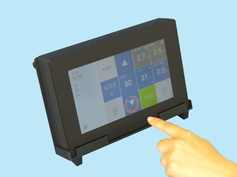 SMK to Unveil a Capacitive Controller Equipped With Proximity and Hover Sensing Functions for Touch Panels (Photo: Business Wire)
