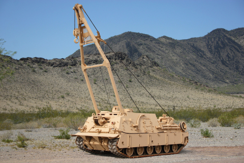 BAE Systems will convert 53 M88A1 recovery vehicles to the M88A2 Heavy Equipment Recovery Combat Utility Lift Evacuation System (HERCULES) configuration. (Photo: BAE Systems)