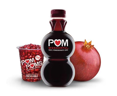 It's POM time! POM Wonderful celebrates fresh pomegranates season (October through January) by unleashing the power of antioxidants with Wonderful variety pomegranates, POM POMS Fresh Arils and 100% Pomegranate Juice. (Photo: Business Wire)