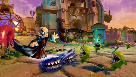 Screenshot from Skylanders Trap Team from Activision Publishing, Inc. (Photo: Business Wire)