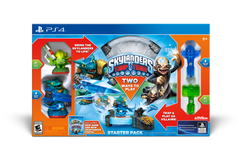 Skylanders Trap Team PS4 Starter Pack (Photo: Business Wire)