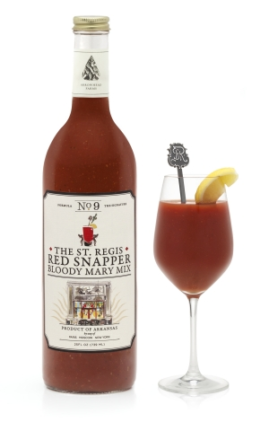The St. Regis Red Snapper Bloody Mary Mix, created exclusively by Arrowhead Farms (Photo: Business W
