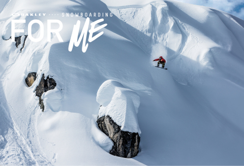 Oakley, Inc. today announced Snowboarding: For Me - a film that brings to life the unique relationship between its world-class snowboarding team and the sport and lifestyle they inhabit every single day. (Photo: Business Wire)