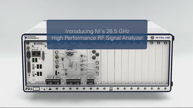 Look inside the industry's widest bandwidth high-performance 26.5 GHz microwave VSA and a fast tuning 20 GHz continuous wave signal generator.